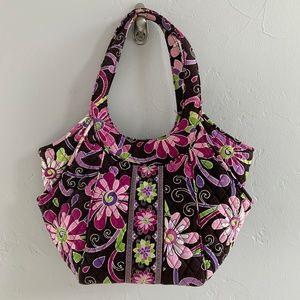 Vera Bradley Purple Punch Medium Shoulder Bag